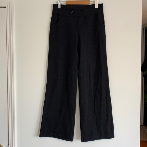 lululemon Still Pant Wide Leg Sz4